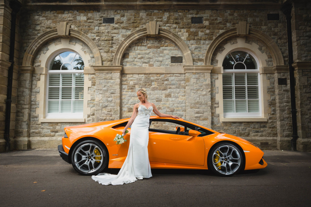 Dress Dreams Lamborghini Photoshoot